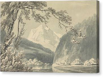 Near Grindelwald Canvas Print by Joseph Mallord William Turner