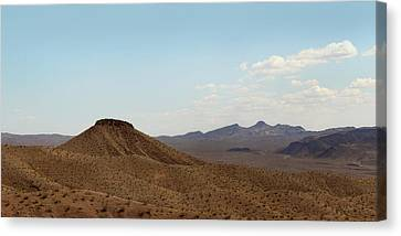 Near Nowhere Canvas Print by Gordon Beck