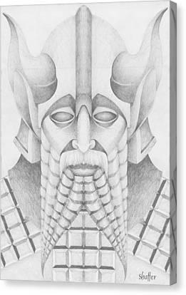 Nebuchadezzar Canvas Print by Curtiss Shaffer