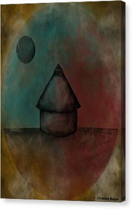 Nebula Hut Canvas Print