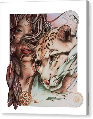 Celtic Art Canvas Print - Nebula by Johanna Pieterman