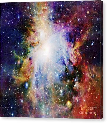 Orion Nebula Canvas Print by Johari Smith