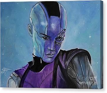 Nebula Canvas Print by Tom Carlton