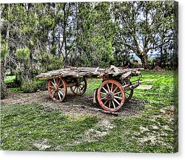 Need Horsepower Canvas Print by Douglas Barnard