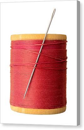 Needle And Thread Canvas Print