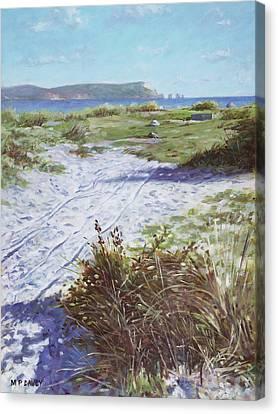 Canvas Print - Needles From Hengistbury Head by Martin Davey