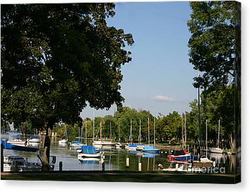 Neenah Harbor Canvas Print
