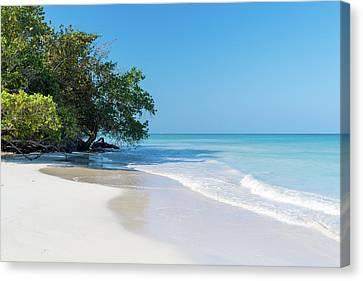 Negril Beach Morning Canvas Print