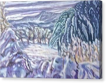Negua Canvas Print
