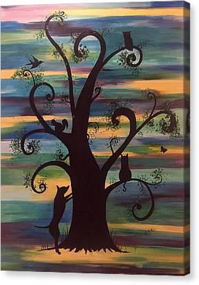 Neighborhood Tree Canvas Print