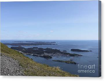 Neighboring Islands 2 Canvas Print by Carolyn Brown
