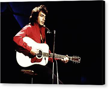 Canvas Print featuring the photograph Neil Diamond 1971 by Chris Walter