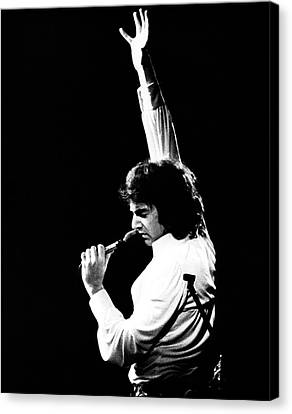 Canvas Print featuring the photograph Neil Diamond 1972 by Chris Walter