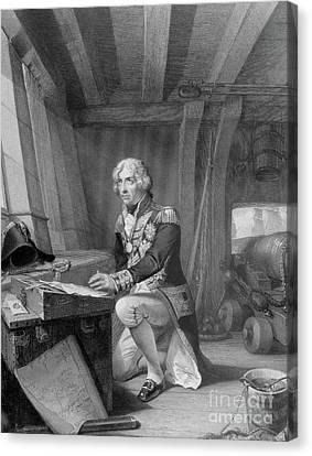 Nelson At Prayer Canvas Print