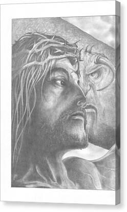 Nemesis 1 Of 2  Canvas Print by Julian  B