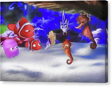 Nemo And Friends Canvas Print by Donna Kennedy