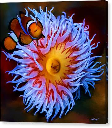 Nemo Comes Home  Canvas Print by Thanh Thuy Nguyen