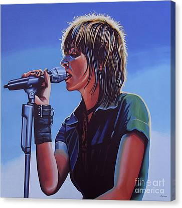 Made Canvas Print - Nena Painting by Paul Meijering