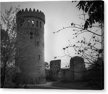 Nenagh Castle County Tipperary Ireland Canvas Print by Teresa Mucha