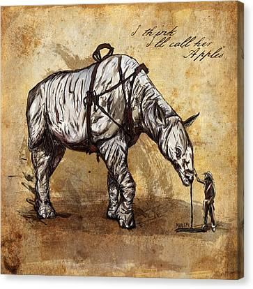 Neobedouin - Cowboy Canvas Print by Mandem