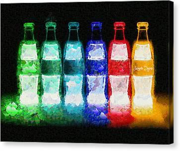 Neon-cola - Da Canvas Print by Leonardo Digenio