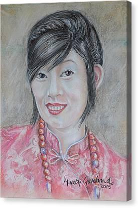 Nepal Girl 1 Canvas Print