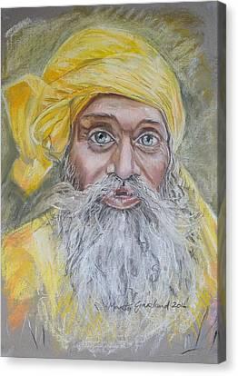 Nepal Man 6 Canvas Print