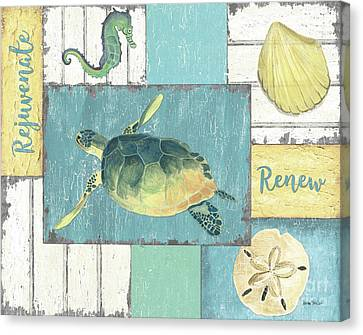 Renewing Canvas Print - Neptune 1 by Debbie DeWitt