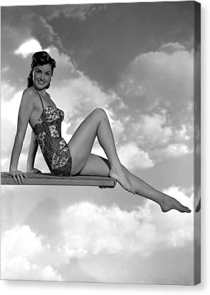 Neptunes Daughter, Esther Williams, 1949 Canvas Print by Everett