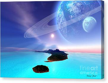 Neptune's Garden Canvas Print by Corey Ford