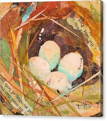 Nest 5 Canvas Print