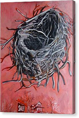 Nest Above House Canvas Print