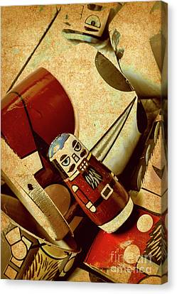 Moustache Canvas Print - Nest Of Russian Dolls by Jorgo Photography - Wall Art Gallery
