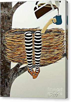 Nest Service Canvas Print