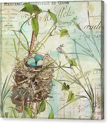 Nesting II Canvas Print by Mindy Sommers