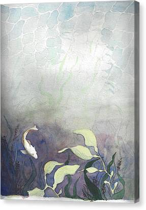 Net Loss Canvas Print