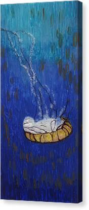 Nettle Jellyfish Canvas Print
