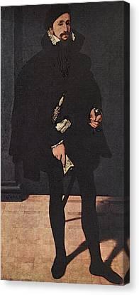 Pilgram Canvas Print - Neufchatel Nicolas Portrait Of Hendrik Pilgram by Nicolas Neufchatel