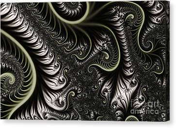 Clayton Canvas Print - Neural Network by Clayton Bruster
