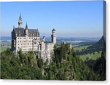 Neuschwastein Castle Canvas Print by Michael  Kenney