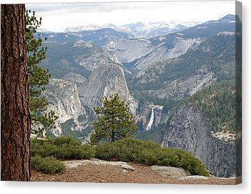 Canvas Print featuring the photograph Nevada Falls by Lynn Bawden