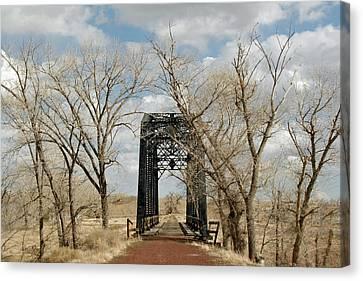Nevada Railroad Bridge Canvas Print