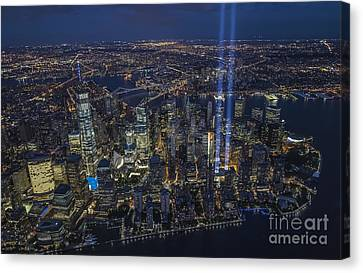 Never Forget-an Aerial Tribute Canvas Print