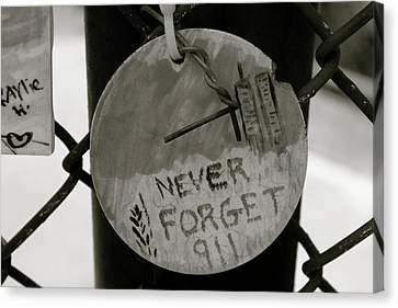 Never Forget Canvas Print by Jerry Patterson