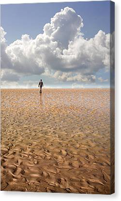 Never Go Back Canvas Print by Mal Bray