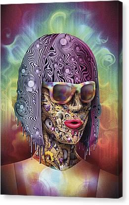 Never Hide Canvas Print by Robert Palmer