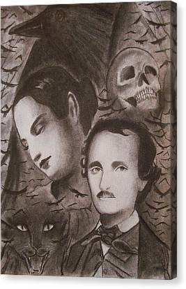 Nevermore Canvas Print by Amber Stanford