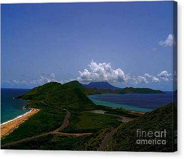Nevis II Canvas Print by Louise Fahy