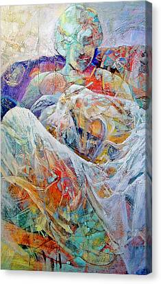 New Arrival Canvas Print by Dale  Witherow