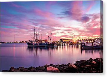 New Bedford Harbor Canvas Print